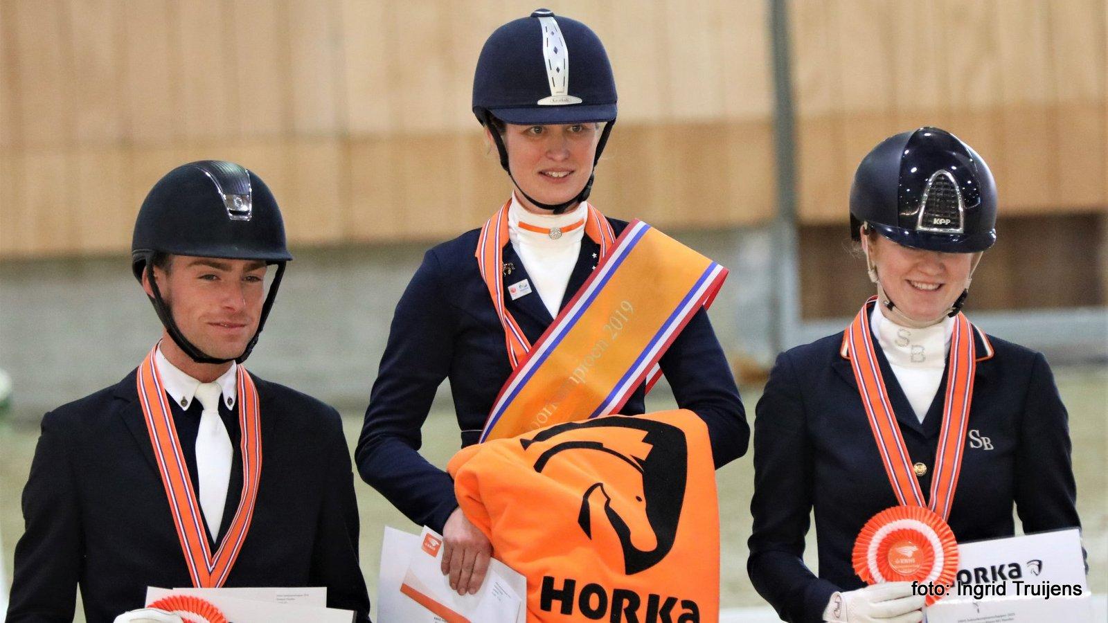 Marjan van der Jagt KNHS-kampioen in klasse M1