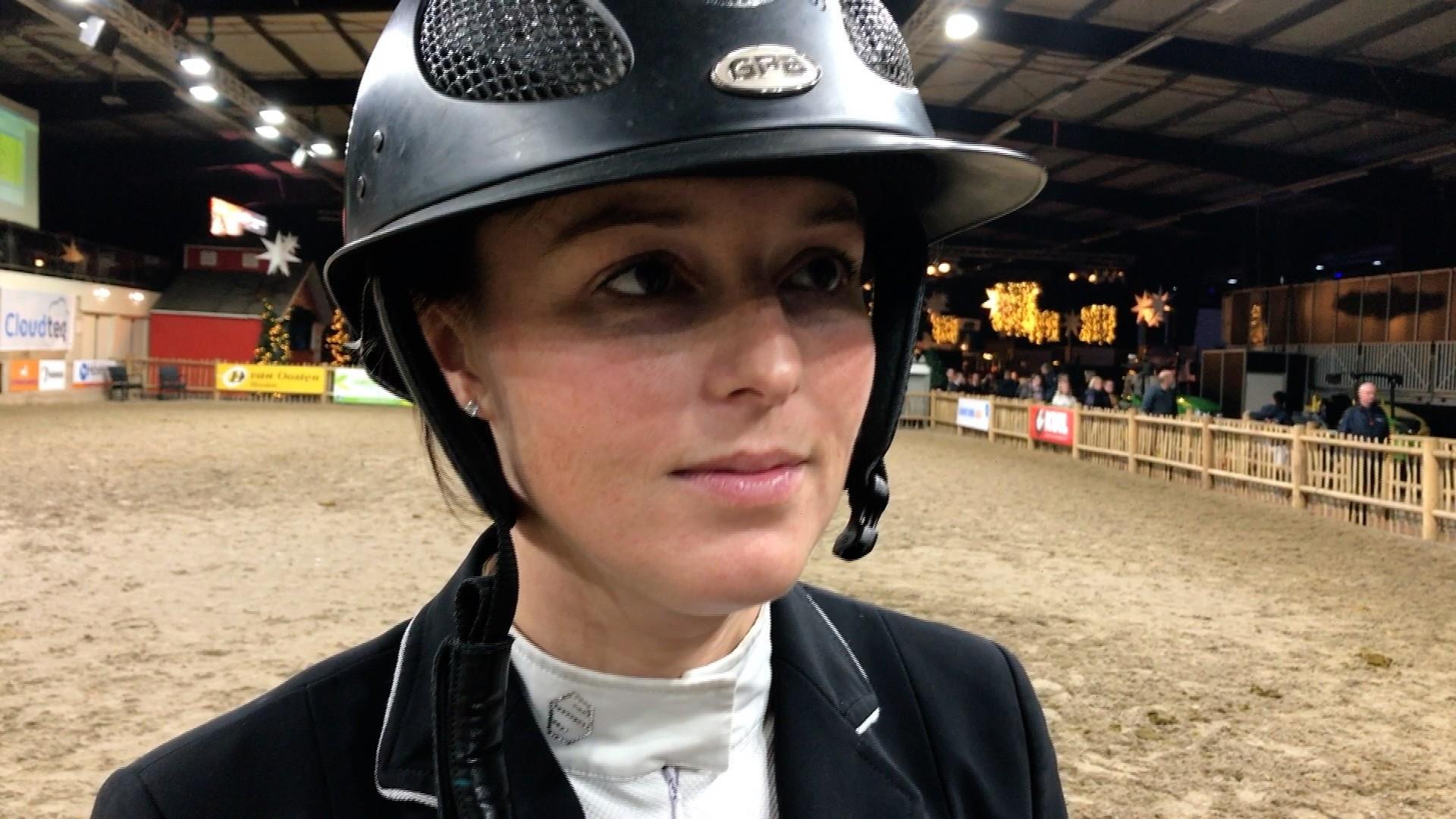 Chantal Regter derde op Indoor Groningen: 'hier had ik op gehoopt'