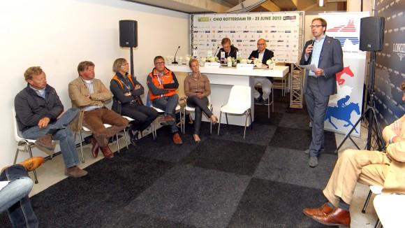 CHIO Rotterdam stichting NOP