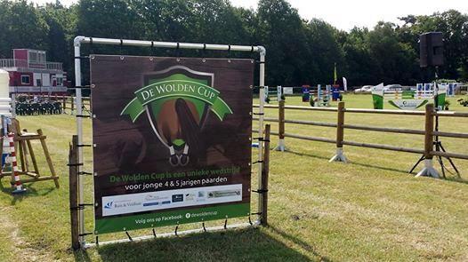 Finale De Wolden Cup voor jonge springpaarden bij CH De Wolden
