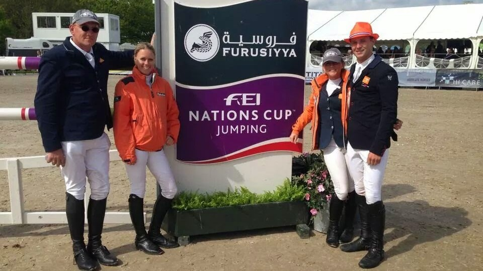 Springruiters teleurstellend achtste in Nations Cup Odense