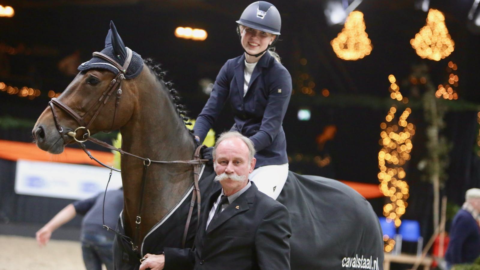 Willemiek Huisman domineert B-klasse Indoor Groningen