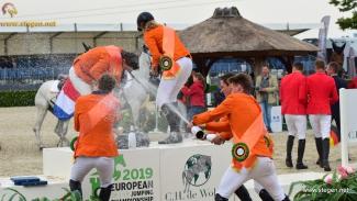 Young Riders Europees kampioen