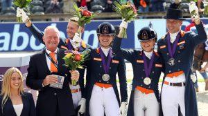 EK Rotterdam 2019 zilver dressuurteam